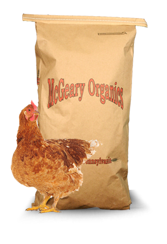 chicken feed bag