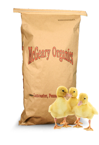 Duck feed product bag